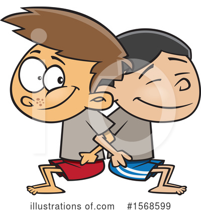 Royalty-Free (RF) Boy Clipart Illustration by toonaday - Stock Sample #1568599