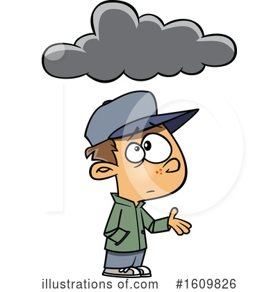 Cloud Clipart #1609826 by toonaday