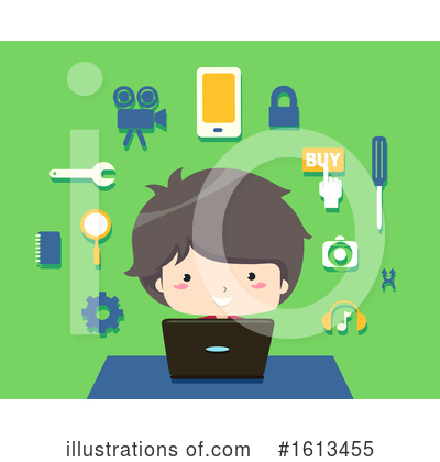 Royalty-Free (RF) Boy Clipart Illustration by BNP Design Studio - Stock Sample #1613455