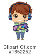 Boy Clipart #1652252 by BNP Design Studio