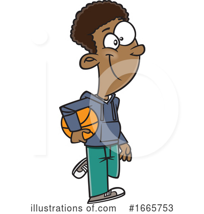 Royalty-Free (RF) Boy Clipart Illustration by toonaday - Stock Sample #1665753
