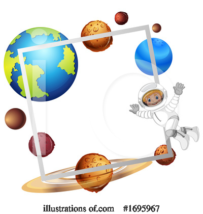 Astronaut Clipart #1695967 by Graphics RF