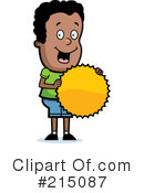 Royalty-Free (RF) Boy Clipart Illustration #215087