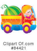 Royalty-Free (RF) boy Clipart Illustration #84421