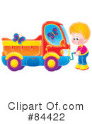Royalty-Free (RF) boy Clipart Illustration #84422