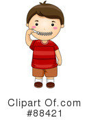 Royalty-Free (RF) Boy Clipart Illustration #88421