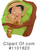 Royalty-Free (RF) Boy Scout Clipart Illustration #1101820