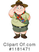 Royalty-Free (RF) Boy Scout Clipart Illustration #1181471