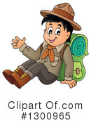 Royalty-Free (RF) Boy Scout Clipart Illustration #1300965