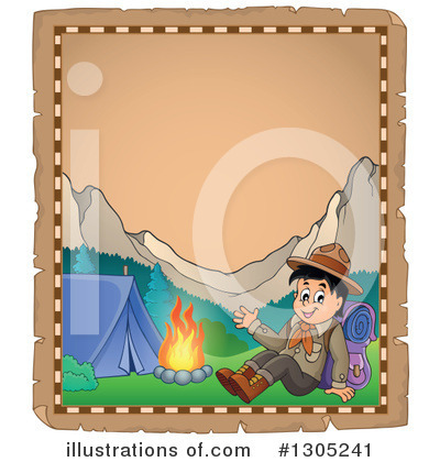Boy Scout Clipart #1305241 by visekart