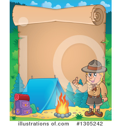 Boy Scout Clipart #1305242 by visekart