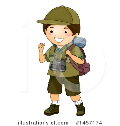 Scout Clipart #1457174 by BNP Design Studio