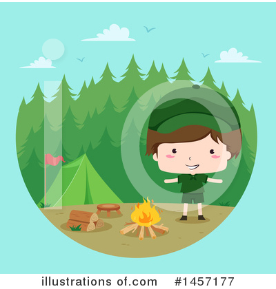 Scout Clipart #1457177 by BNP Design Studio