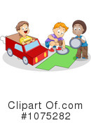 Royalty-Free (RF) boys Clipart Illustration #1075282