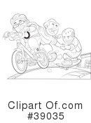 Royalty-Free (RF) Boys Clipart Illustration #39035