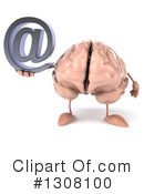 Brain Character Clipart #1308100 by Julos