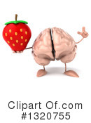 Brain Character Clipart #1320755 by Julos