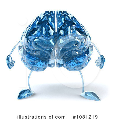 Brain Clipart #1081219 by Julos
