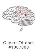 Royalty-Free (RF) Brain Clipart Illustration #1087808