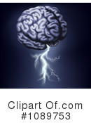 Royalty-Free (RF) brain Clipart Illustration #1089753