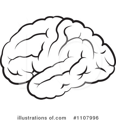Brain Clipart #1107996 - Illustration by Lal Perera