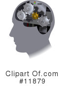 Royalty-Free (RF) Brain Clipart Illustration #11879