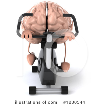 Spin Bike Clipart #1230544 by Julos