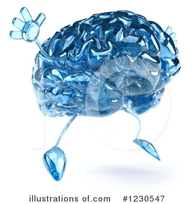 Brain Clipart #1230547 by Julos