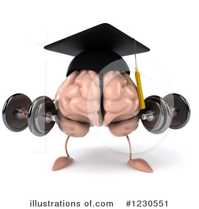 Brain Clipart #1230551 by Julos