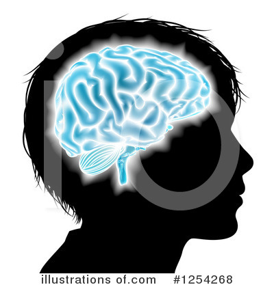 Royalty-Free (RF) Brain Clipart Illustration by AtStockIllustration - Stock Sample #1254268