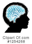 Royalty-Free (RF) Brain Clipart Illustration #1254268