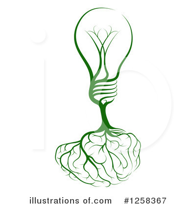 Light Bulb Clipart #1258367 by AtStockIllustration