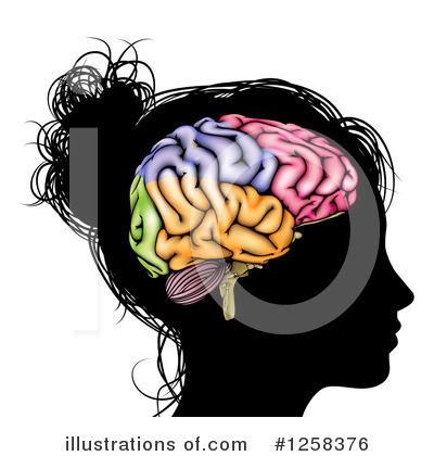 Royalty-Free (RF) Brain Clipart Illustration by AtStockIllustration - Stock Sample #1258376