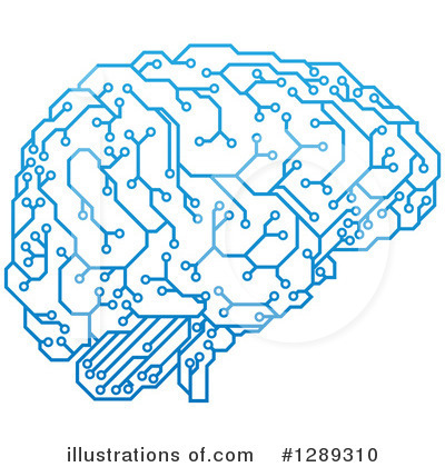 Brain Clipart #1289310 by AtStockIllustration
