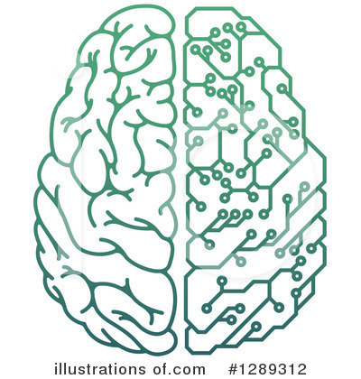 Brain Clipart #1289312 by AtStockIllustration