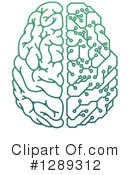 Royalty-Free (RF) Brain Clipart Illustration #1289312