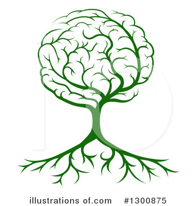 Brain Clipart #1300875 by AtStockIllustration