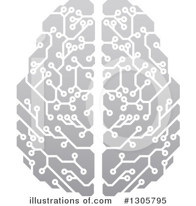 Brain Clipart #1305795 by AtStockIllustration