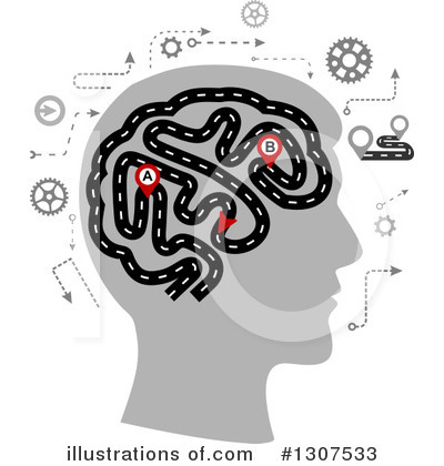 Brain Clipart #1307533 by Vector Tradition SM