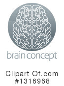 Brain Clipart #1316968 by AtStockIllustration