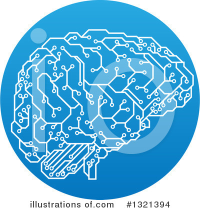 Brain Clipart #1321394 by AtStockIllustration