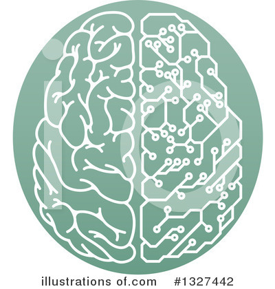 Brain Clipart #1327442 by AtStockIllustration