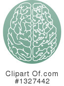 Royalty-Free (RF) Brain Clipart Illustration #1327442