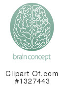 Brain Clipart #1327443 by AtStockIllustration