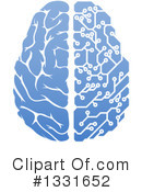 Royalty-Free (RF) Brain Clipart Illustration #1331652
