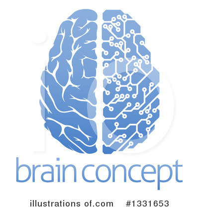 Royalty-Free (RF) Brain Clipart Illustration by AtStockIllustration - Stock Sample #1331653