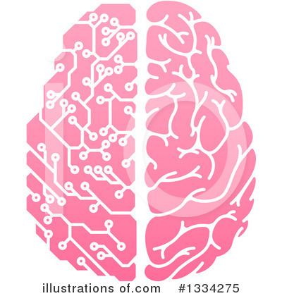 Brain Clipart #1334275 by AtStockIllustration