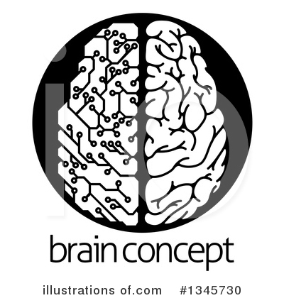 Royalty-Free (RF) Brain Clipart Illustration by AtStockIllustration - Stock Sample #1345730