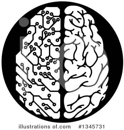 Brain Clipart #1345731 by AtStockIllustration