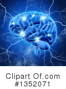 Brain Clipart #1352071 by KJ Pargeter